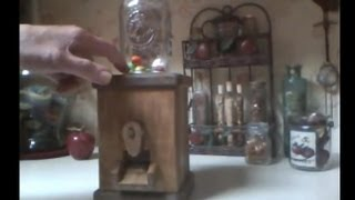 Country Candy Dispenser Part 1 Of 2