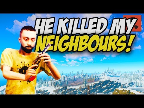 DESTROYING PLAYER for KILLING MY NEIGHBOURS! - Rust Solo #2 thumbnail