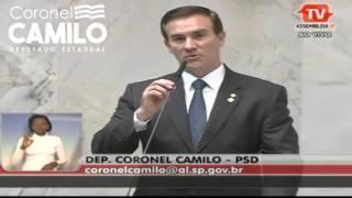 Coronel Camilo parabeniza Folha de S. Paulo por matéria sobre a Soldado Adriana