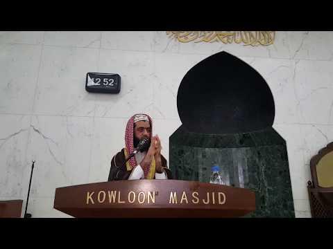 Jummah Bayan By Mufti Muhammad Shoaib In Kowloon Masjid Hong Kong 25/09/2015