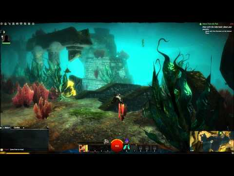 Exploring Lions Arch in the Beta! - Guild wars 2