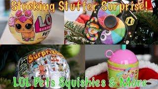 STOCKING STUFFER SURPRISE! LOL Pets SMOOSHY MUSHY Slither.io and MORE!!