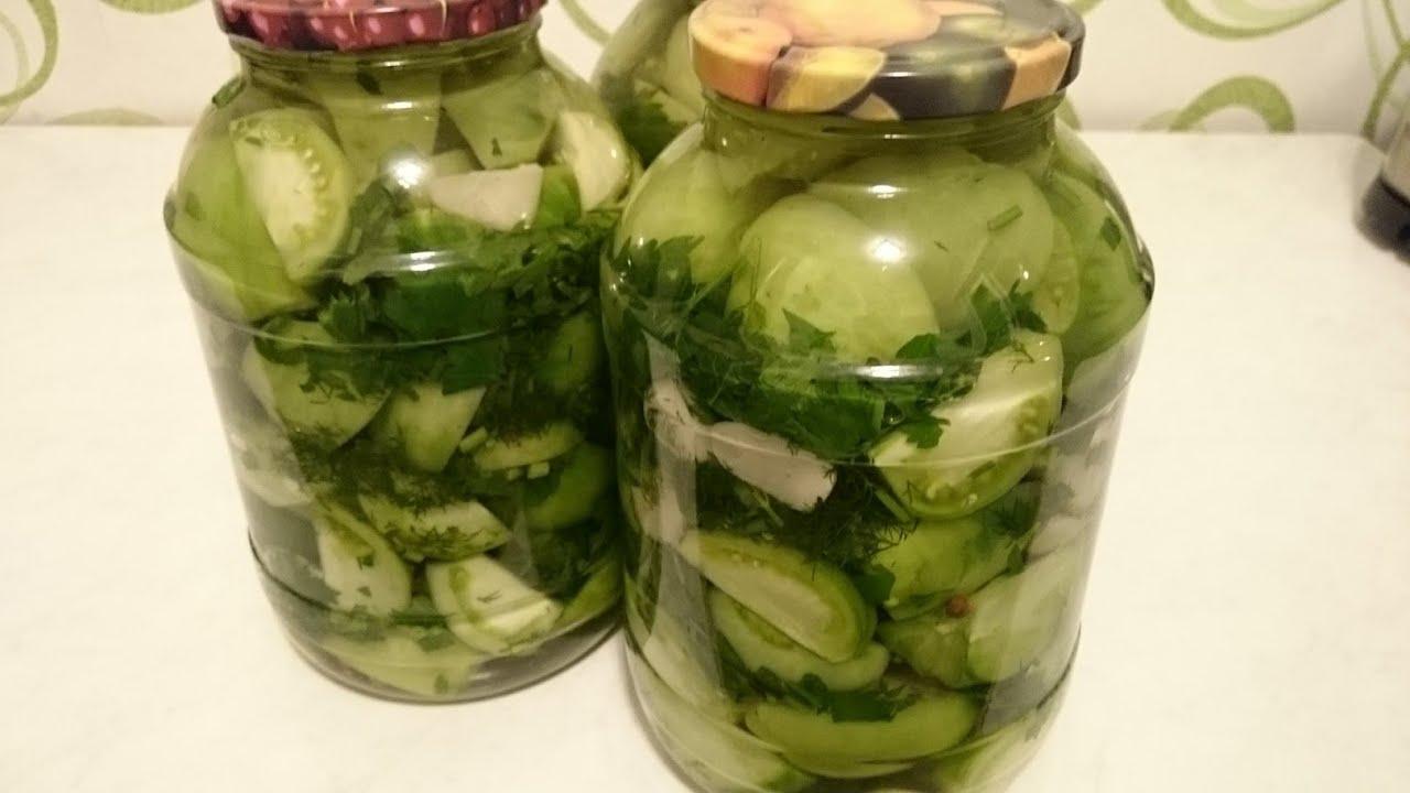 простой рецепт салата из помидор на зиму