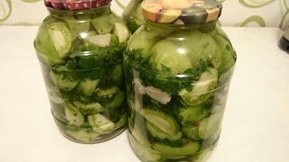 Помидоры на зиму - салат! ПРОСТАЯ заготовка и консервация!