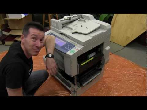 EEVblog #303 - Photocopier Extreme Teardown