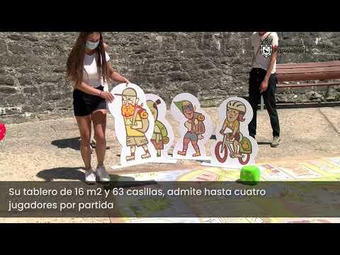 El juego de la oca del Camino de Santiago en el Fortín de San Bartolomé
