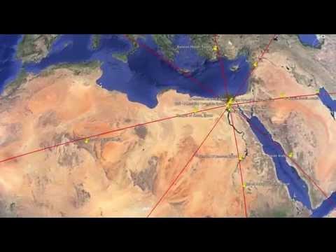 Pyramid Alignments: Giza, Vatican and Astana