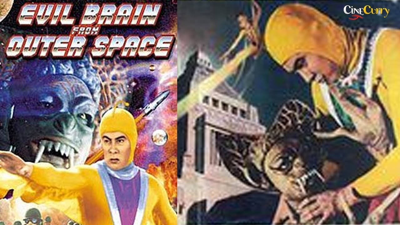 Evil Brain From Outer Space (1965) |  Action Sci Fi Movie | Ken Utsui, Junko Ikeuchi