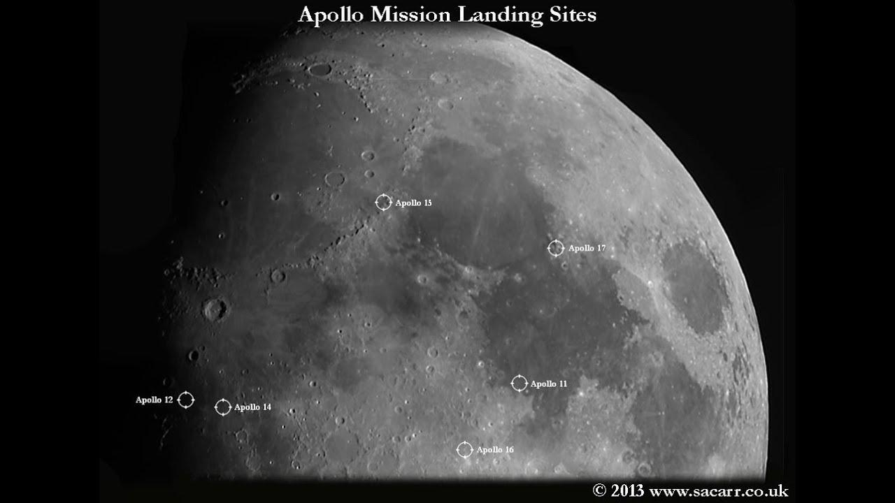 The Apollo Landing Sites through my Telescope ( and NO ...