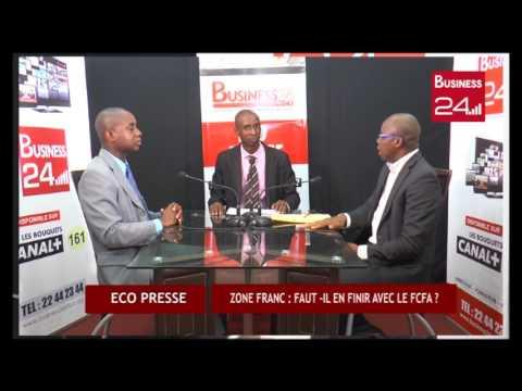 ECO PRESSE (Business 24) Débat sur le FCFA et l'adhésion du Maroc à la CEDEAO. PAUL ALLE