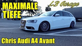 LB Garage | Maximale Tiefe für Chris Audi A4 Avant!
