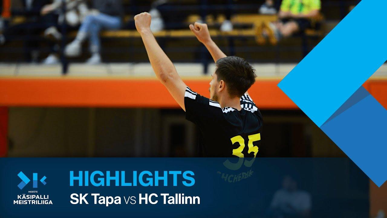 HIGHLIGHTS | SK Tapa - HC Tallinn | Round 1 | Estonian Champions League 2021/22