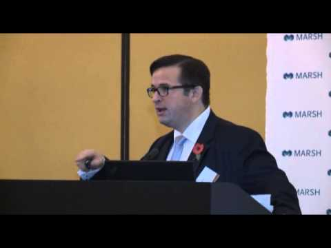 Marsh Construction and Infrastructure Conference 2014: Matthew Walker