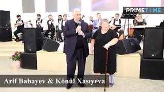 Konul Xasiyeva  Arif Babayev...Gozel muqam...