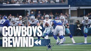 Cowboys Rewind: Offensive Line Love   Dallas Cowboys 2021