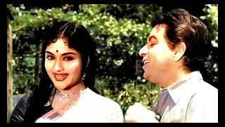 Jawani Mein Akelepan In Color 4K   Dilip Kumar, Vaijayanti Mala, Paigham Song