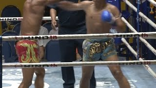 Muay Thai Fight - Design vs Komin- New Lumpini Stadium, Bangkok, 23rd June 2015