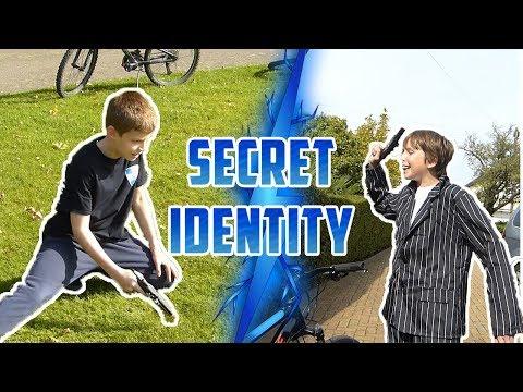 SECRET IDENTITY!