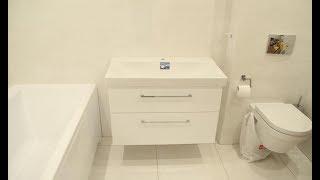 видео Подвесные шкафы для ванной комнаты