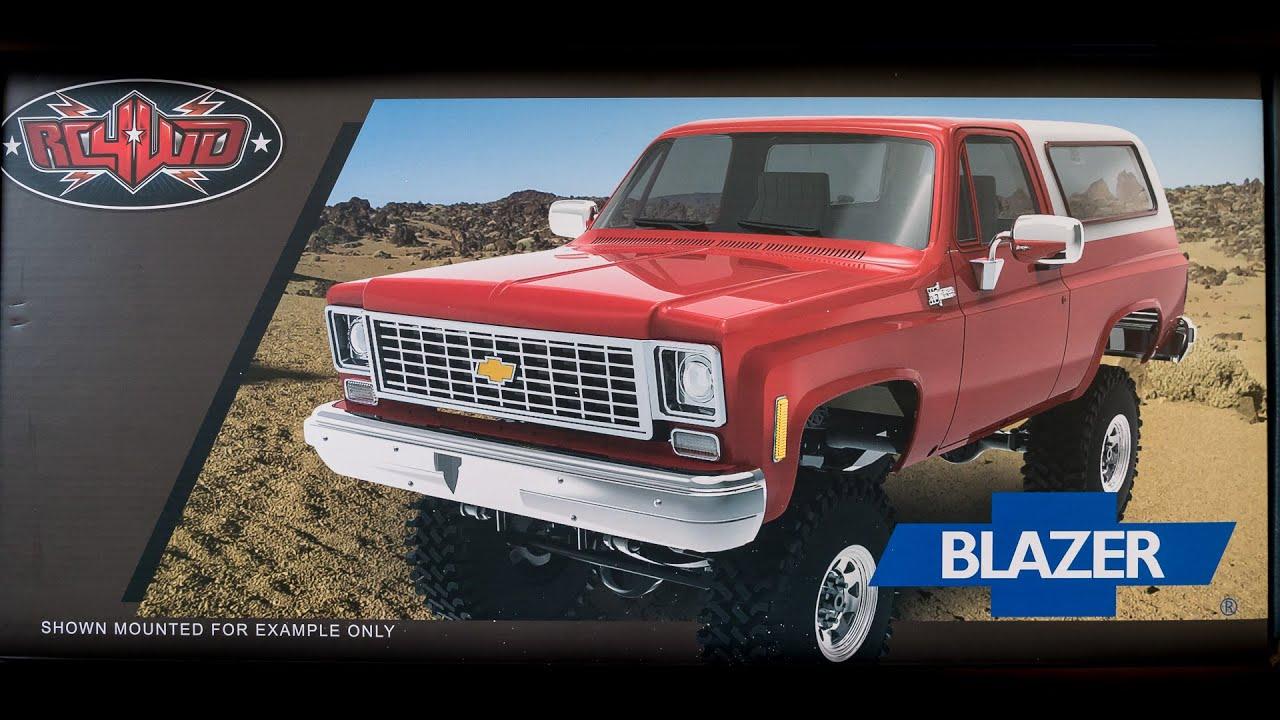 RC4WD Chevrolet K5 Blazer Body Kit Unboxing - YouTube