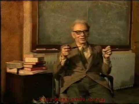 Ord.Prof.Dr. Cahit Arf - 1/2 - turkmath.org
