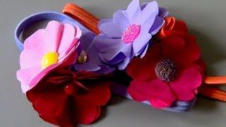 2- Parte flores de tecido fácil e linda Passo a Passo