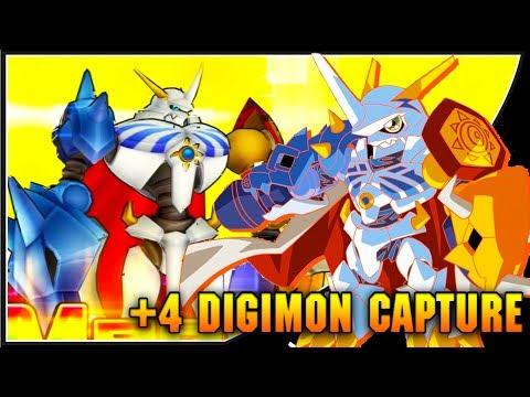 [Digimon Links] OMG! +4 DIGIMON CAPTURE!? Omnimon 10-Digimon Capture Summons!