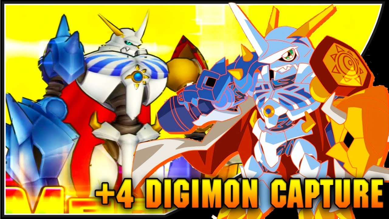 [Digimon Links] OMG! +4 DIGIMON CAPTURE!? Omnimon 10-Digimon Capture  Summons!