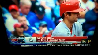 Pete Kozma at-bat vs. Royals 2015