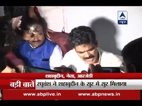 Why is Shahabuddin attacking Nitish Kumar?