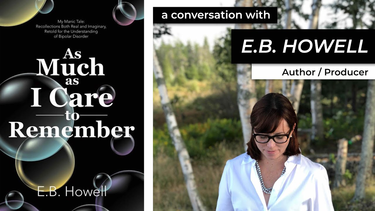 EP 5: Using fiction to examine mental illness with E.B. HOWELL