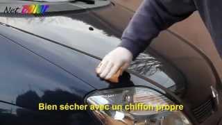 comment réparer vernis voiture