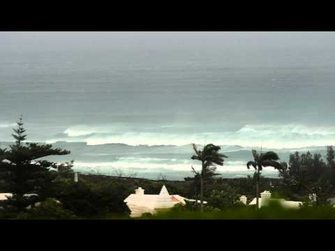 Hungry Bay Paget Bermuda Tropical Storm Leslie