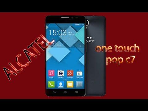 Обзор телефона Alcatel One Touch POP C7