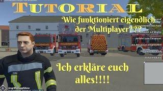 Tutorial wie Multiplayer bei Notruf 112 die Feuerwehr Simulation Funktioniert