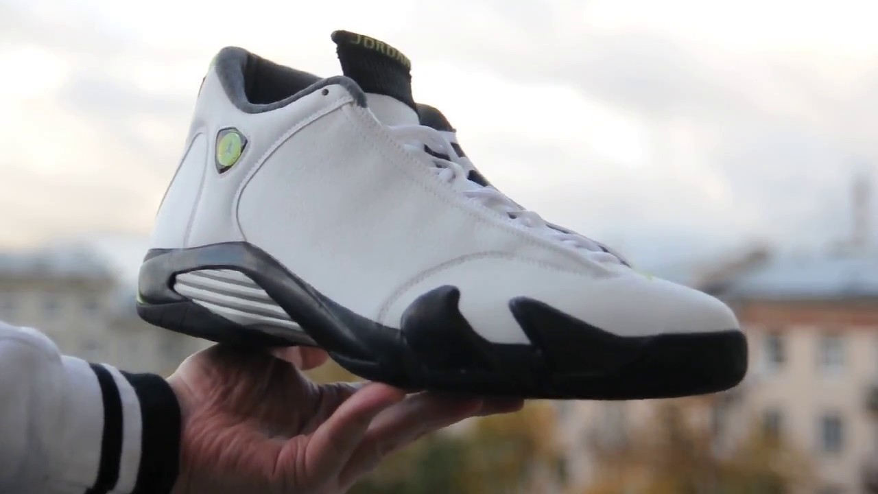 reputable site f8f91 7a2a7 2005 Air Jordan 14 (XIV) Retro   Chartreuse