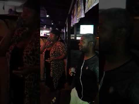 Karaoke @ Squeeze bar Freeport ft Candace and Marc
