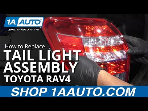 How to Replace Tail Light Assembly 05-16 Toyota RAV4