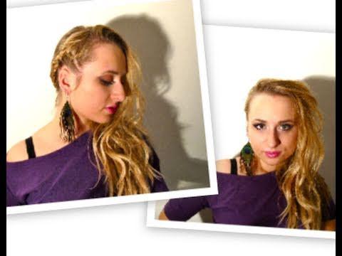Szybka Transformacja Fryzury Na Dyskotekę Imprezę Fast Party Hair Transformation