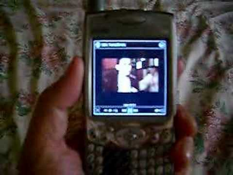 Treo 650 Streaming Video