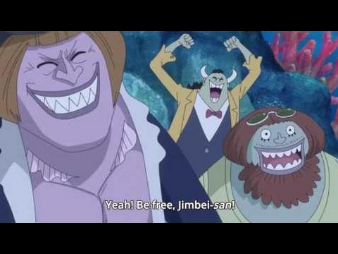 Jinbe Decides To Join Strawhats - One Piece 790 HD