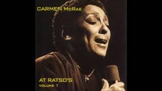 Carmen McRae -  Live At Ratso's Vol. 1 ( Full Album )