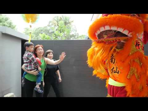 CNY 2016 Lion Dance House Blessing
