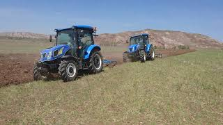 New Holland TT4.50 ve New Holland TT4.75 Tarla Sürümü