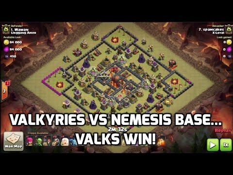 Valks Rip Into TH10 Nemesis Base | Mister Clash | Clash of Clans