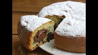 Ricetta Nutella Uccia3000.Torta Cookie Con Cuore Alla Nutella Sofficissima Le Delizie Di Uccia3000