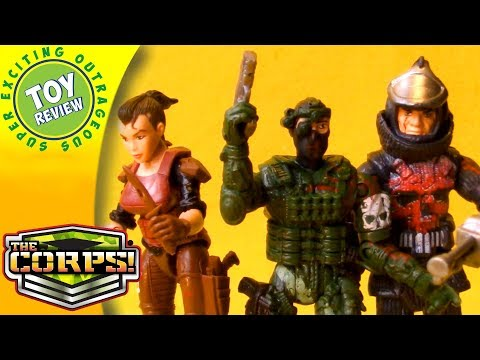 The Corps! Elite Faction Face Off 2-Packs Action Figures – SEO Toy Review