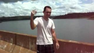 Ponte sobre o rio Araguari em Santa Juliana MG