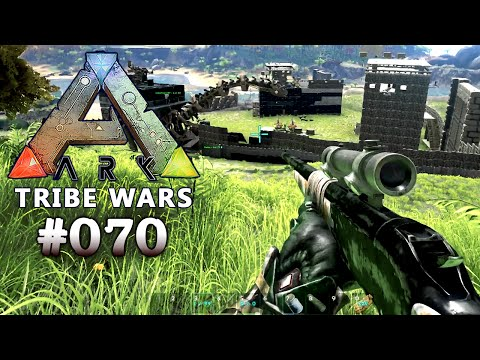 ARK: TRIBE WARS ★ #070 - Wir raiden die Dead Angels | Trollraid! [Deutsch | Epic Graphic | Koop]
