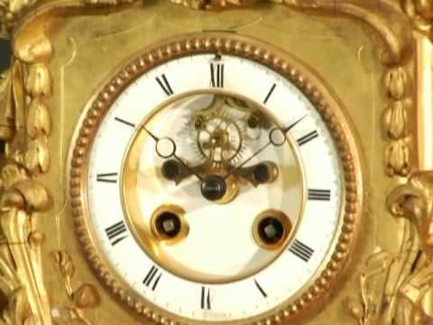 Superb French Musical Clock with Highly Animated Acrobats, Possibly Phalibois